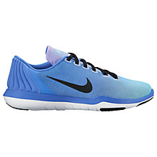 Buy Nike Flex Supreme TR 5 Women's Cross Trainers, Blue/Black Online at johnlewis.com