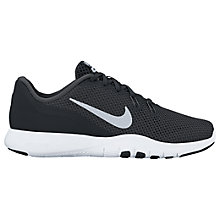 Buy Nike Flex Trainer 7 Women's Training Shoe, Black/Silver Online at johnlewis.com