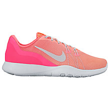 Buy Nike Flex Trainer 7 Fade Women's Cross Trainers, Pink/Silver Online at johnlewis.com