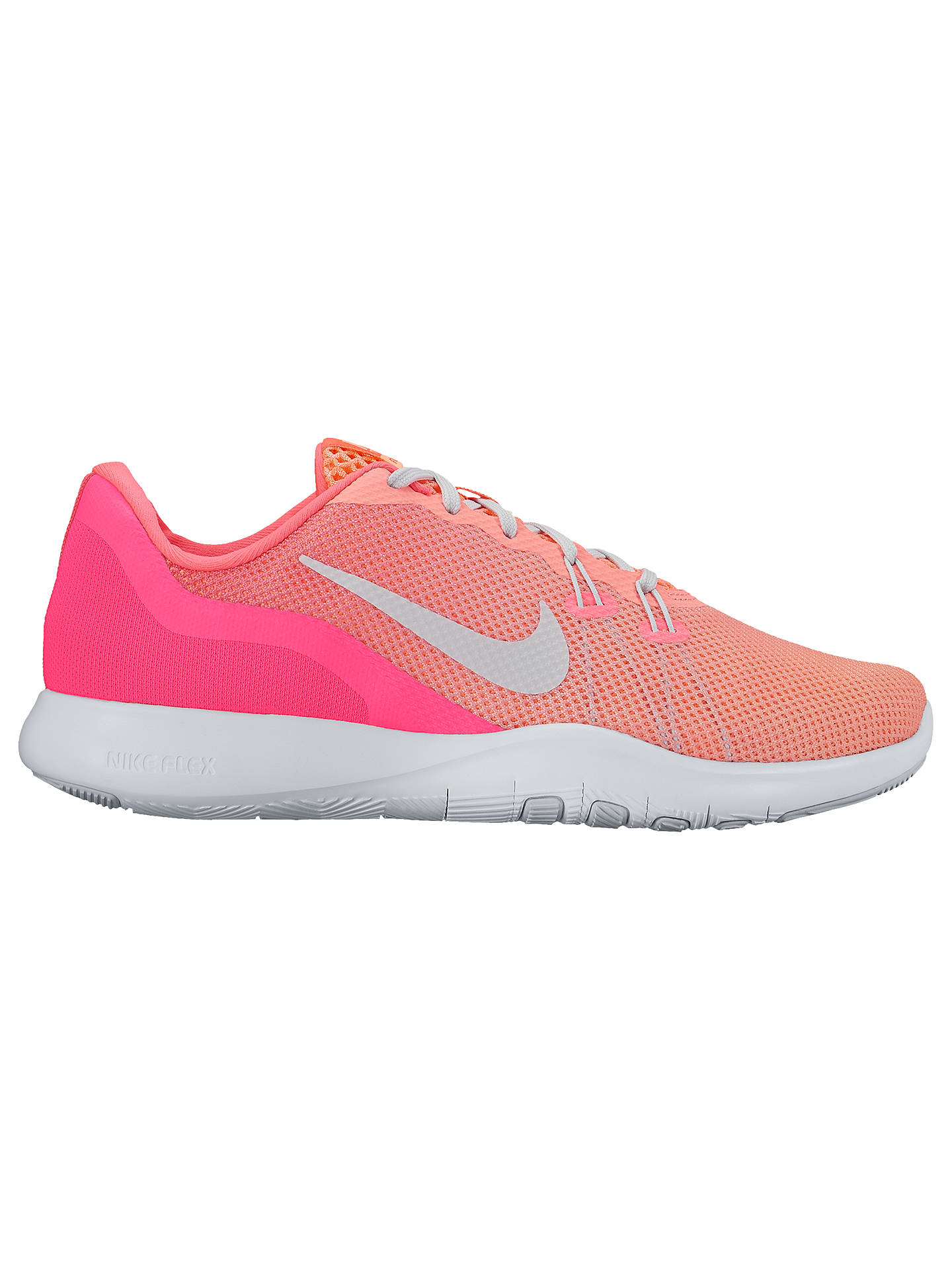 27340baead121 Buy Nike Flex Trainer 7 Fade Women's Cross Trainers, Pink/Silver, 4 Online  ...