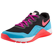 Buy Nike Metcon Repper DSX Women's Cross Trainers, Black/Pink Online at johnlewis.com