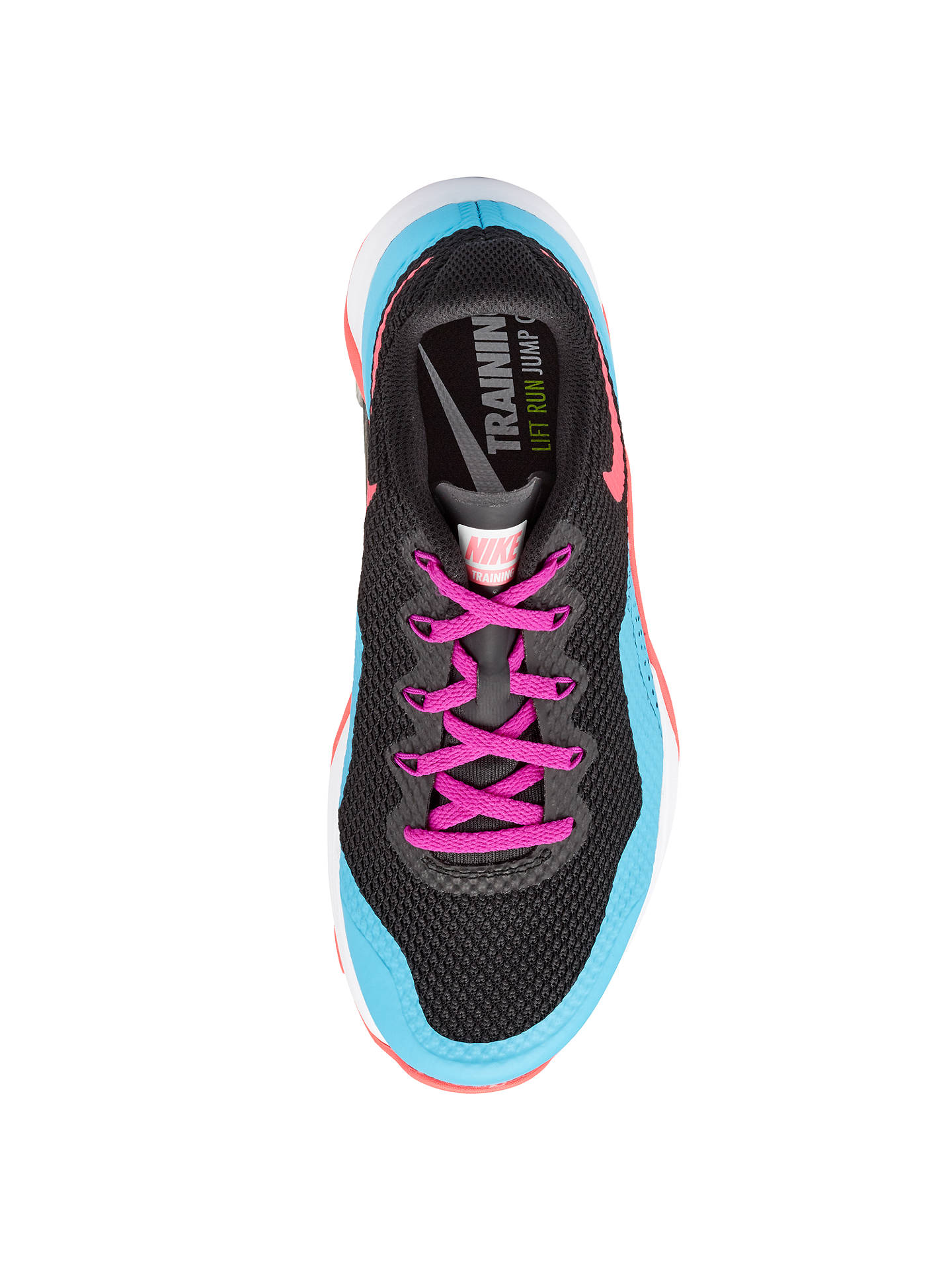 107bdbe40eeae Nike Metcon Repper DSX Women's Cross Trainers, Black/Pink at John ...