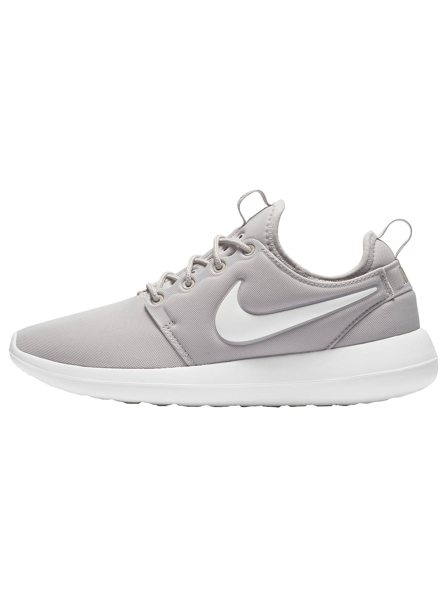 aa50a3b06 Buy Nike Roshe Two Women's Trainers, Grey, 4 Online at johnlewis. ...