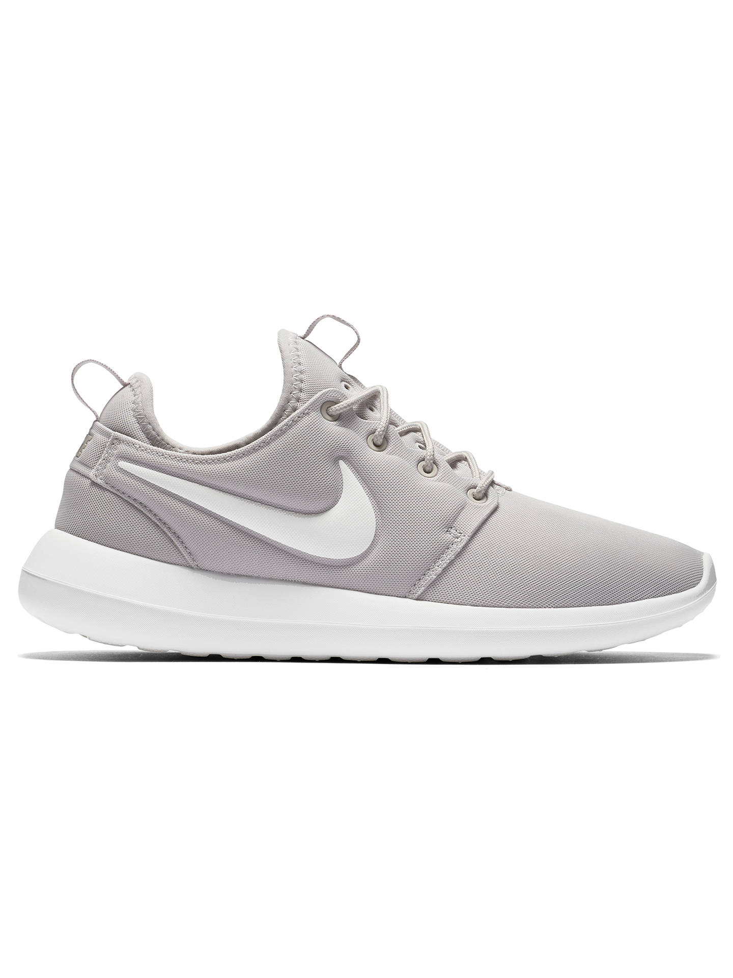 online store 0f185 68178 ... Buy Nike Roshe Two Women s Trainers, Grey, 4 Online at johnlewis. ...