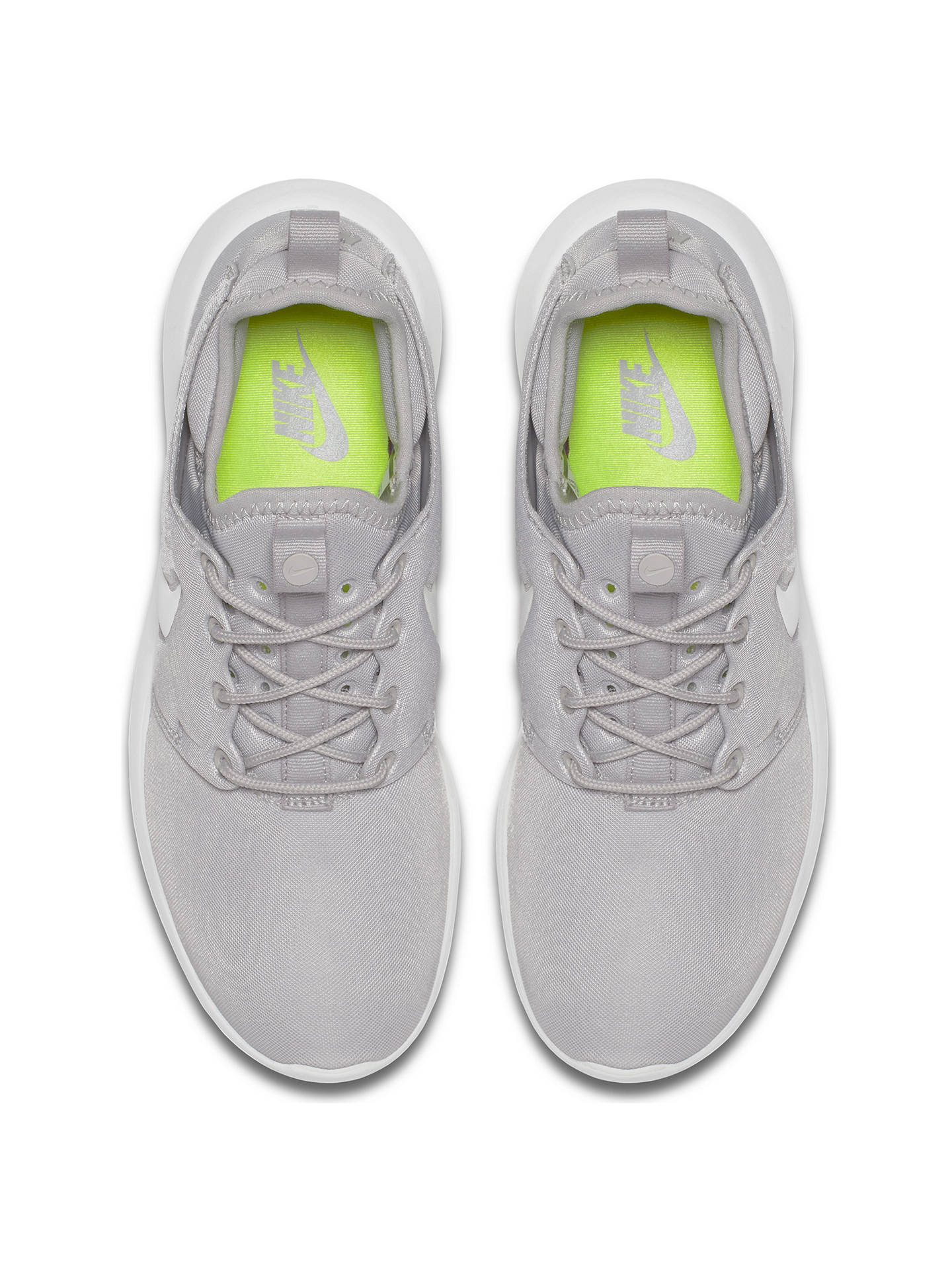 f788b2b53 ... Buy Nike Roshe Two Women's Trainers, Grey, 4 Online at johnlewis.com