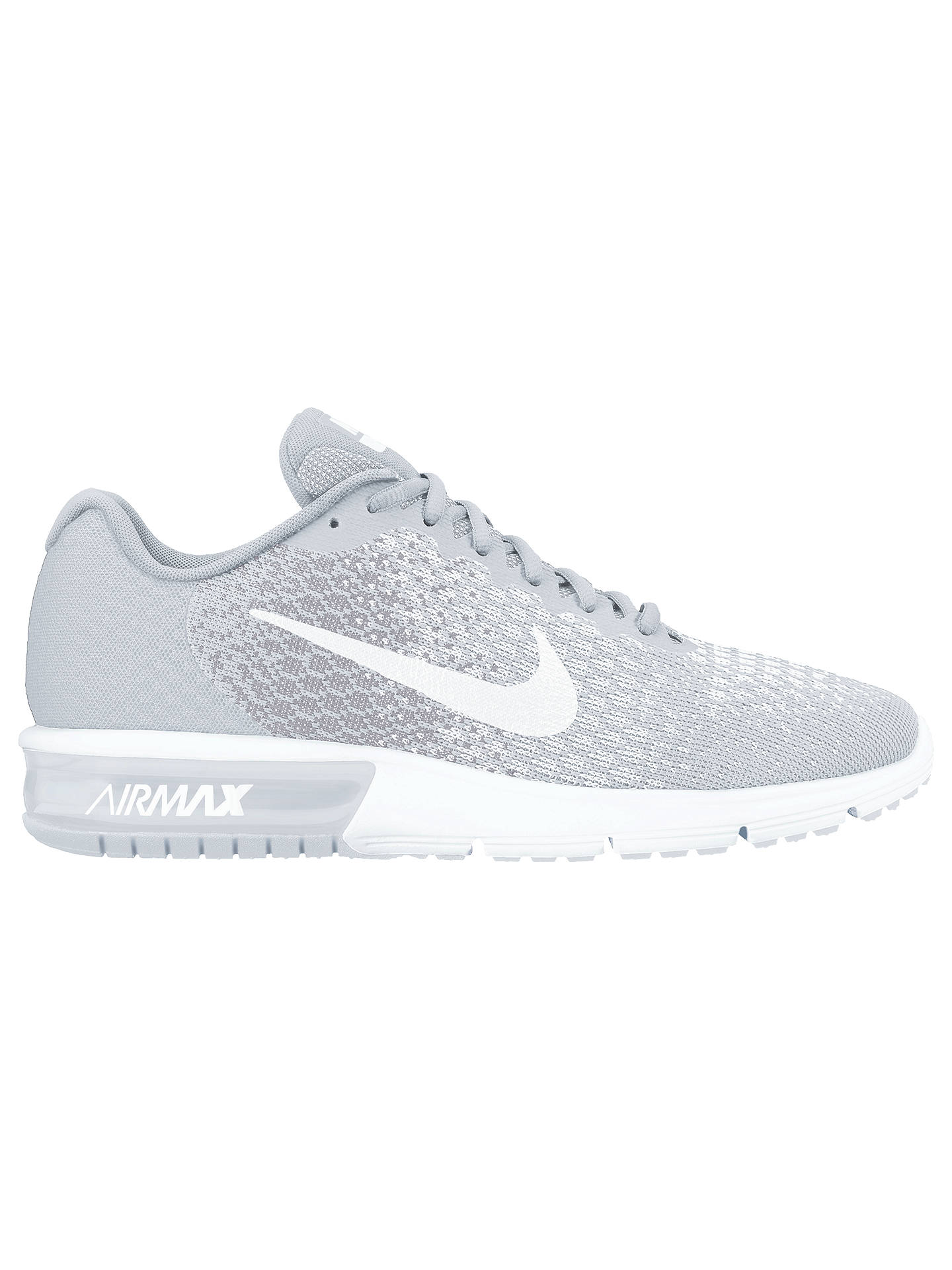 sale retailer 3ef54 a226a Buy Nike Air Max Sequent 2 Women s Running Shoes, White Grey, 4 Online ...