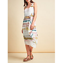 Buy Modern Rarity Side Drape Slip Dress, Waterfall Online at johnlewis.com