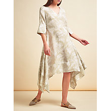 Buy Modern Rarity Hankerchief Hem Palm Dress, Multi Online at johnlewis.com