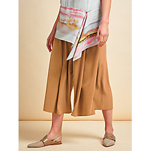 Buy Modern Rarity Side Split Culottes, Caramel Online at johnlewis.com