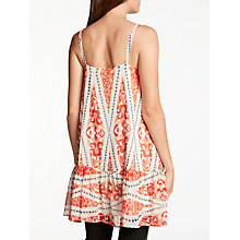 Buy Somerset by Alice Temperley Deco Print Cami Tunic, Red Online at johnlewis.com