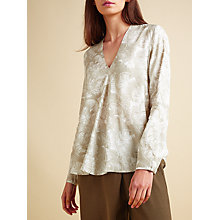 Buy Modern Rarity Pleat Front Top, Multi Online at johnlewis.com