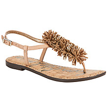 Buy Sam Edelman Gates Raffia Pom Sandals, Multi Online at johnlewis.com