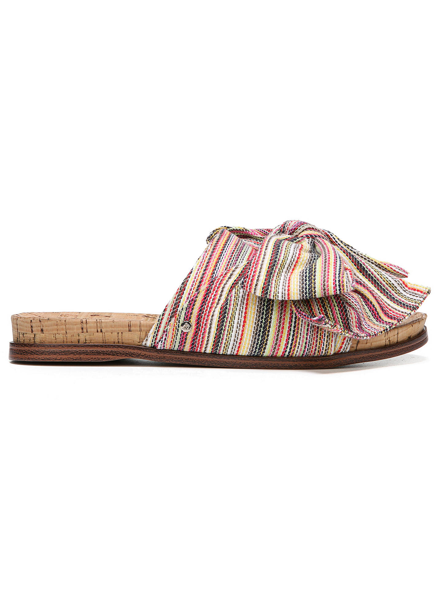 c37e4e2c6464a ... BuySam Edelman Henna Bow Trimmed Mule Sandals
