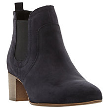 Buy Dune Black Perin Pointed Toe Ankle Chelsea Boots Online at johnlewis.com
