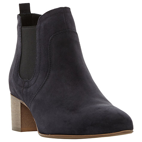 buy dune black perin pointed toe ankle chelsea boots