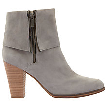 Buy Mint Velvet Aiyana Block Heeled Ankle Boots, Grey Online at johnlewis.com