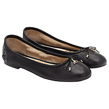 Buy Sam Edelman Felicia Ballet Pumps, Black Online at johnlewis.com