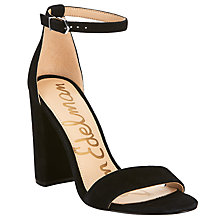 Buy Sam Edelman Yaro Block Heeled Sandals, Black Online at johnlewis.com