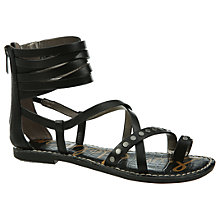 Buy Sam Edelman Gabe Studded Ankle Sandals, Black Online at johnlewis.com