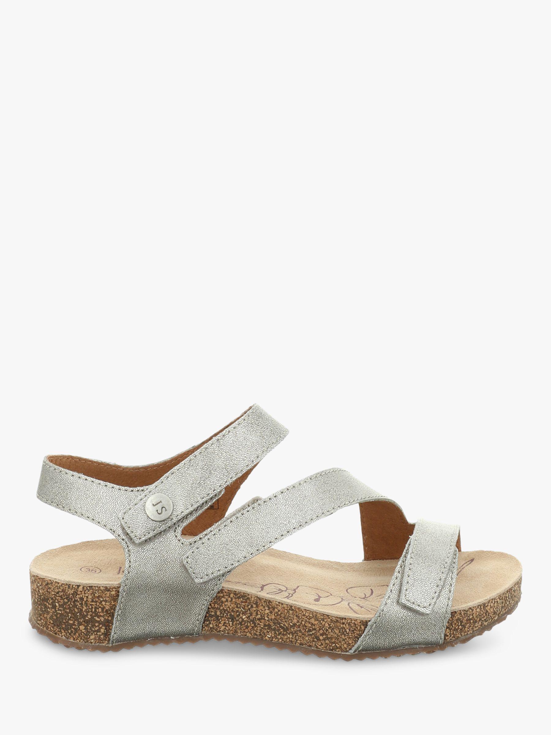 Josef Seibel Josef Seibel Tonga 25 Triple Strap Sandals, Silver