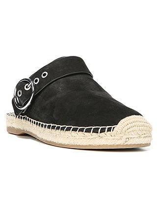Buy Sam Edelman Jazzy Slingback Espadrilles, Black, 4 Online at johnlewis.com