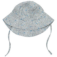 Buy Wheat Baby Sun Hat, Baby Blue Online at johnlewis.com