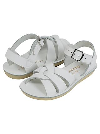 Salt-Water Children's Swimmer Leather Sandals