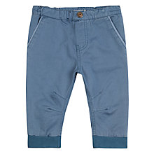 Buy Wheat Baby Kevin Twill Trousers, Blue Online at johnlewis.com