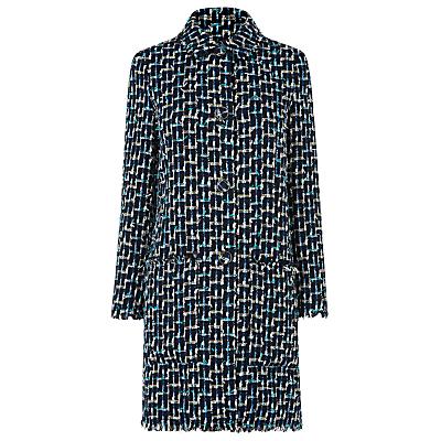 L.K. Bennett Vetti Linton Tweed Coat, Multi
