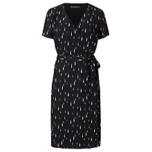 Buy Sugarhill Boutique Aura Raindrop Wrap Dress, Navy Online at johnlewis.com