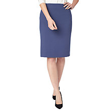 Buy Precis Petite Eliza Tailored Pencil Skirt, Navy Online at johnlewis.com