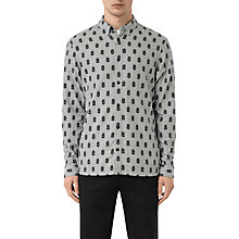 Buy AllSaints Atlus Feather Print Slim Fit Shirt Online at johnlewis.com
