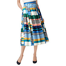 Buy L.K. Bennett Tippi Full Skirt, Multi Online at johnlewis.com