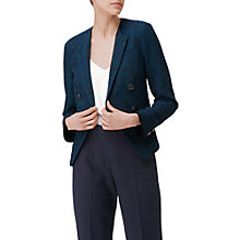 Buy L.K. Bennett Wren Tweed Jacket, Navy Online at johnlewis.com