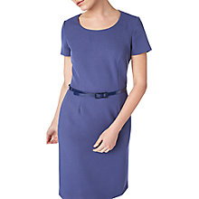 Buy Precis Petite Eliza Tailored Shift Dress, Navy Online at johnlewis.com