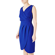 Buy Precis Petite Ria Wrap Dress, Blue Online at johnlewis.com