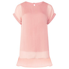 Buy Phase Eight Lou Silk T-Shirt Online at johnlewis.com
