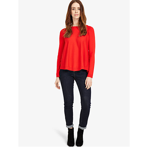 Buy Phase Eight Terza Zip Back Swing Jumper Online at johnlewis.com