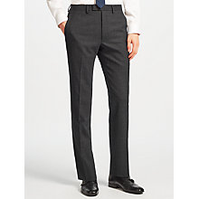 Buy Kin by John Lewis Novello Stripe Slim Fit Suit Trousers, Charcoal Online at johnlewis.com
