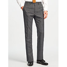 Buy Kin by John Lewis Parnell Wool Check Slim Fit Suit Trousers, Charcoal Online at johnlewis.com