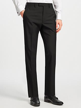 Kin Duckett Slim Fit Suit Trousers, Black