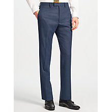Buy Kin by John Lewis Palmer Peak Lapel Slim Fit Suit Trousers, Blue Marl Online at johnlewis.com