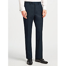 Buy Kin by John Lewis Oden Jacquard Slim Dinner Suit Trousers, Teal Online at johnlewis.com
