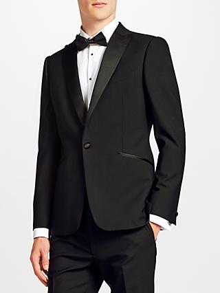 Kin Duckett Slim Fit Dress Suit Jacket, Black
