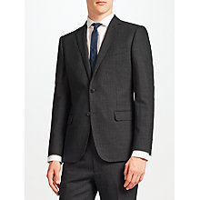 Buy Kin by John Lewis Novello Stripe Slim Fit Suit Jacket, Charcoal Online at johnlewis.com