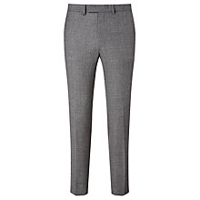 Buy Kin by John Lewis Turner Semi Plain Slim Fit Suit Trousers, Grey Online at johnlewis.com
