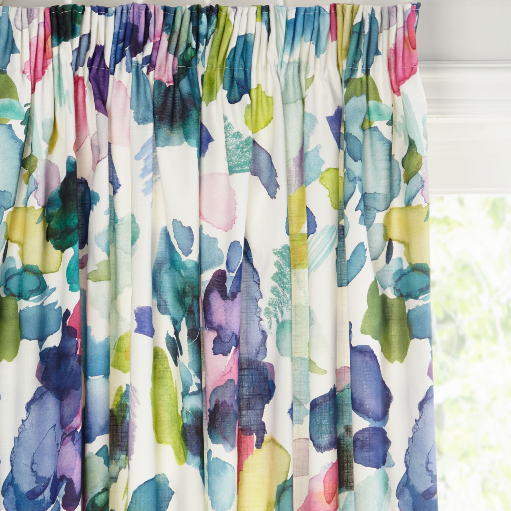 bluebellgray bluebellgray Palette Pair Lined Pencil Pleat Curtains
