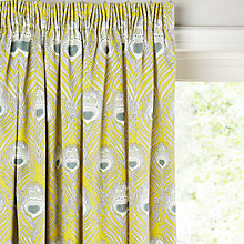 Liberty Fabrics John Lewis Caesar Lined Pencil Pleat Curtains Online At