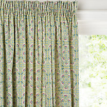 Buy Liberty Fabrics & John Lewis Lodden Flower Lined Pencil Pleat Curtains Online at johnlewis.com