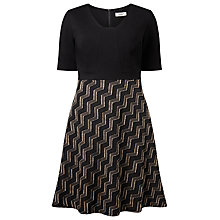 Buy Studio 8 Carmen Dress, Black Online at johnlewis.com